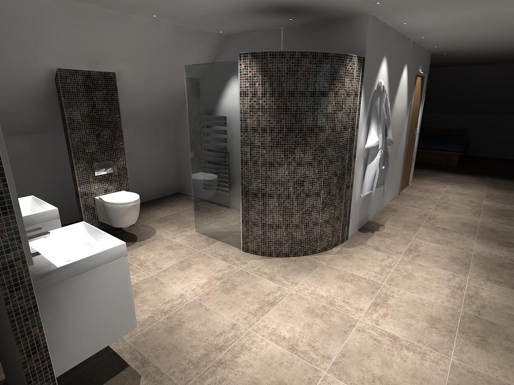 Plot 1 Top Bathroom – Pic 1