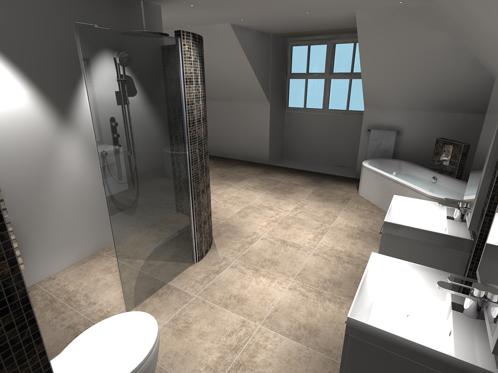 Plot 1 Top Bathroom – Pic 3