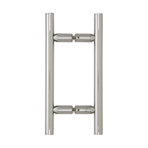Polished Chrome Ladder Style Back-to-Back Pull Handle For Shower Screen