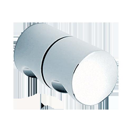 Shower Knob 40 mm Diameter CP Glass Thickness 6 to 12 mm Brass Body